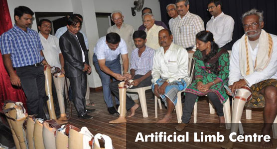 Rotary Mysore - Artificial Limb Centre